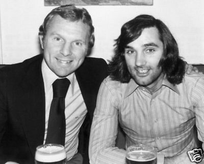 Bobby Moore George Best Football Legends 10x8 Photo