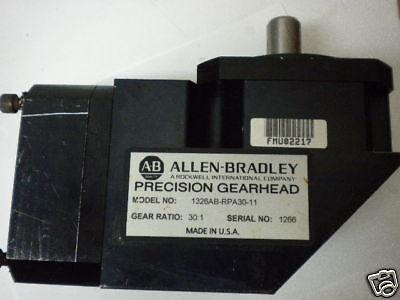 Allen Bradley 1326ab-rpa30-11 Precision Gearhead Used