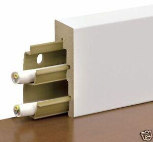 sockelleiste ska nt wei 2060 er elektroinstallation leiste kabelkanal. Black Bedroom Furniture Sets. Home Design Ideas