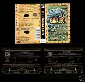 EL-CAMALEON-SPAIN-CASSETTE-OPEN-1998-MERENGUE-SALSA