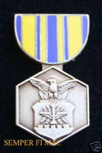 AUTHENTIC-US-AIR-FORCE-COMMENDATION-MEDAL-HAT-PIN-WOW