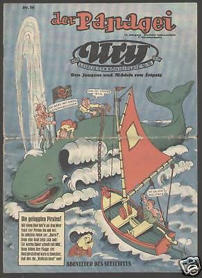Der Papagei 1938 Vorkriegscomic 19 Hefte Disney