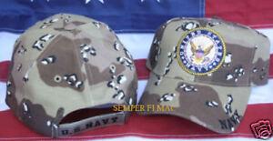 US-NAVY-LOGO-SEAL-HAT-USN-NAVAL-CAP-DESERT-CAMOFLAUGE-PIN-UP-WOWNH-VET-GIFT-WOW