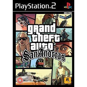 Grand Theft Auto: San Andreas PS2 *NEW* SEALED UK PAL
