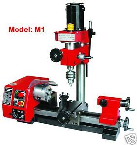 Sieg-M1-Vari-Spd-Multi-Function-Metal-Lathe-Milling-Drilling-Mill-Drill-Machine