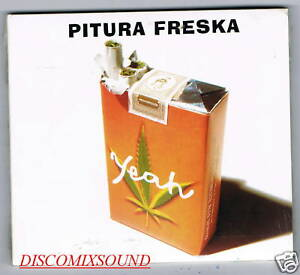 PITURA-FRESKA-YEAH-CD-DIGIPACK-RARO-NUOVO-SIGILLATO-1995-1996-ASPIRINE-SONY