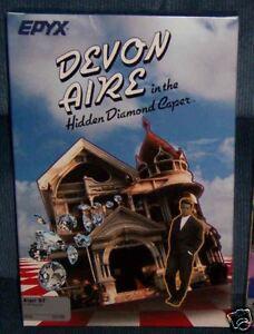 Devon-Aire-HD-Caper-Atari-1040-520-ST-New-EPYX-Disk