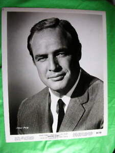 100-real-RARE-GREAT-photo-MARLON-BRANDO-1964-LH2122