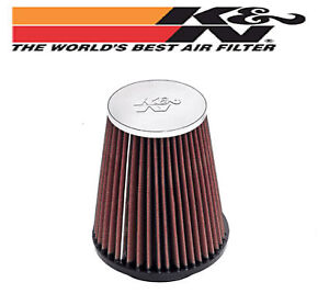 New-K-amp-N-Unversal-Chrome-Top-AIR-POD-FILTER-3-inch-Flange-x-6-inch