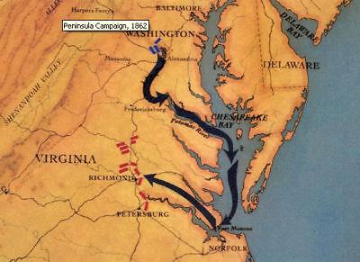The Virginia Peninsular Campaign + Bonus