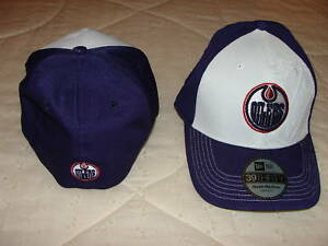 Edmonton-Oilers-New-Era-Hat-Cap-39Thirty-S-M-Deboss