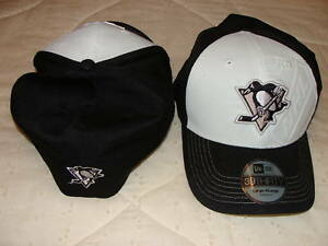 Pittsburgh-Penguins-New-Era-Hat-Cap-39Thirty-S-M-Deboss