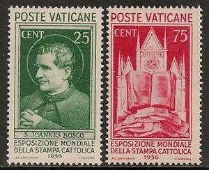 Vatican 1936 YV 74+76 MLH VF