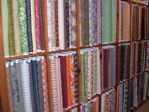 400 yds QUILT SHOP FABRIC $2.75 YD IN 12 YD PCS