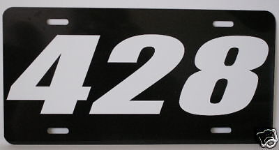 428 Engine Size License Plate Fits Ford Pontiac Cobra J