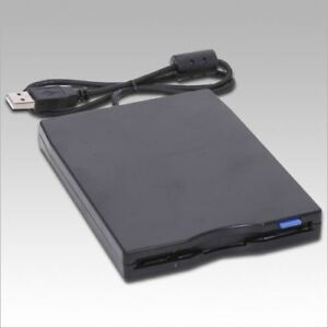USB-External-3-5-1-44MB-Floppy-Disk-Drive-Black-NEW