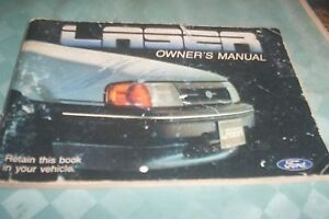 FORD-1985-LASER-Owners-Manual