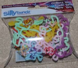 Silly Bandz Bands Fantasy Rubber Bracelets NEW 24pk EBay