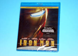 Iron Man Marvel Studios Blu-Ray European Edition 2008 Sealed Robert Downey Jr.