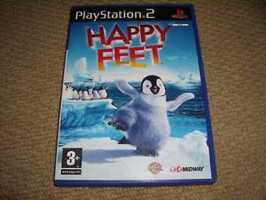 HAPPY-FEET-for-SONY-PLAYSTATION-2-PS2-Boxed-with-Game-Disc-and-Instructions