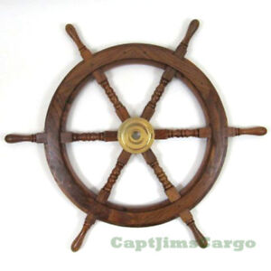 Boat steering wheel and cable for sale