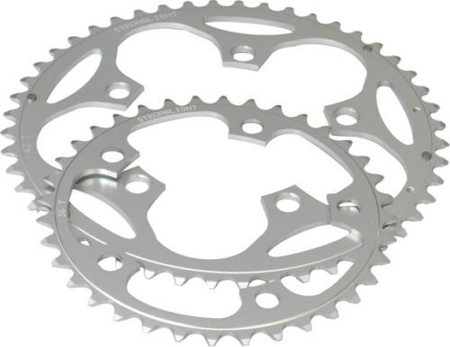 Stronglight 5 Arm 110mm Alloy Silver Chainring RD110