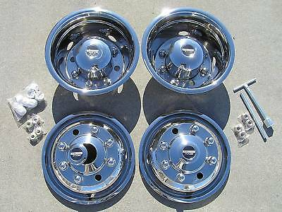 19.5 Chevy / Gmc 6500 Dually Wheel Covers
