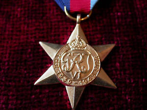 Quality Die Struck WW2 1939-1945 Star Replica