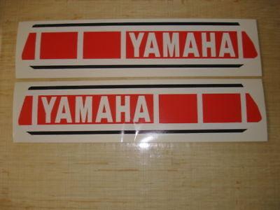 1980 Yamaha Yz125 Yz250 Euro Model Gas Tank Decals