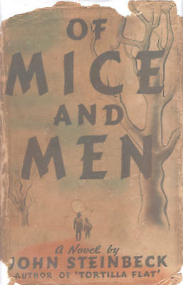 Mice And Men John Steinbeck 1937 Collectable Book W Dj Beautiful Collectible