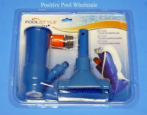 Pool Spa Fountain Pond Vacuum Cleaner Jet Vac With Bag