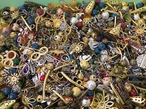 MEGA METAL MIX Beads Lot Jewelry Making Supplies