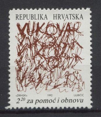 Croatia 1992 SG#168 Obligatory Tax MNH
