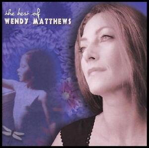 WENDY MATTHEWS - BEST OF : STEPPING STONES CD ( ABSENT FRIENDS ) 90's POP *NEW*