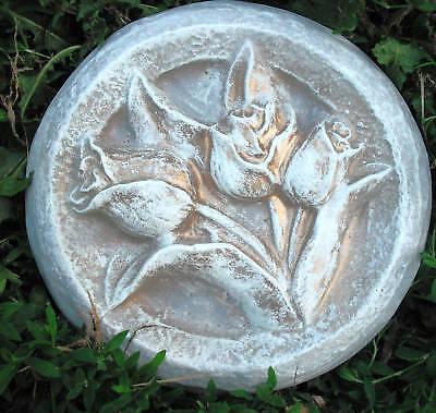 Gostatue tulip plaque plastic mold concrete mold plaster mold mould