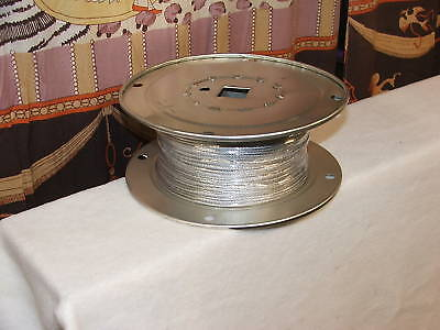 "7 X 7 Flexile 1/8"" 500' Majority Garage Door Radiogram Wire Elevated Door OHD Repair"