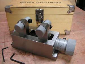 Precision-Duplex-Grinding-Wheel-Dresser