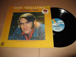 DON-WILLIAMS-Volume-two-UK-1974-LP