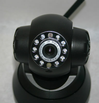 Wireless Surveillance Camera Wifi Pan 2way Audio Iphone