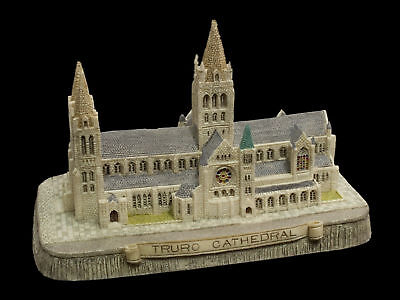 HERITAGE FRASER CREATIONS - TRURO CATHEDRAL - DETAILED MODEL VILLAGE BUILDING