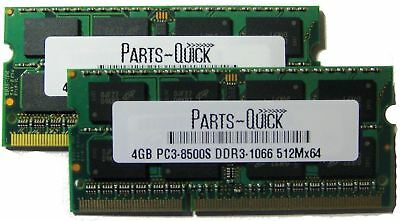 2x 4gb 8gb Apple Macbook Pro Imac Mac Mini Memory Ram Pc3-8500 1066mhz 1067mhz