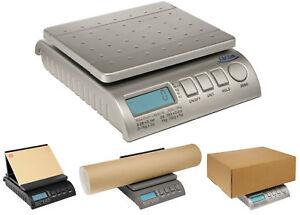 Digital 40Kg 88lb Letter Postal Postage Parcel Weighing Scales Silver - VAT reg 5055282400173