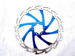 Alligator Windcutter 140mm Blue Mountain Bike Disc Rotor Light
