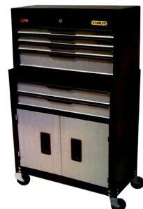 NIB-STANLEY-6-DRAWER-TOOL-BOX-CHEST-amp-TOOL-CABINET