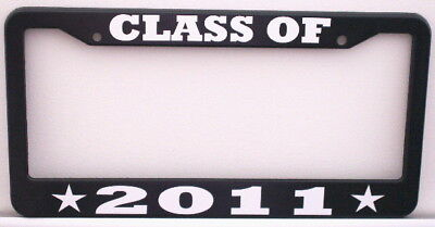Class Of 2011 License Plate Frame College Graduation