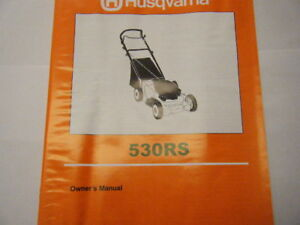 NEW-HUSQVARNA-530-RS-OWNERS-MANUAL
