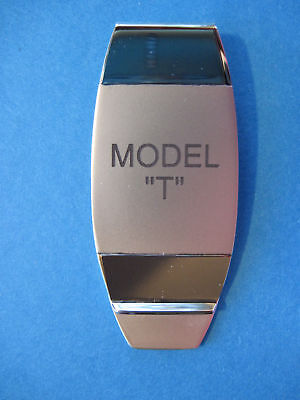 MODEL T  -  money clip - (stacked lettering)