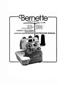 BERNETTE 234 MANUAL PDF