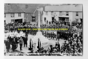 rp4151 - Clare War Memorial , Suffolk - photo 6x4