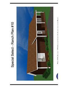 Small house home building kit Katrina cottage house kit shell